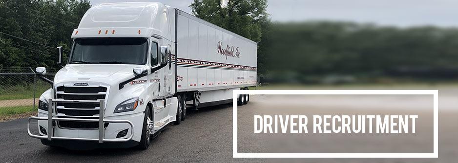Woodfield Trucking | Driver Recruitment